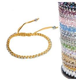 Jacqueline Kent Jewelry Sweet Petite Bracelet Gold JKB166GO Jacqueline Kent Jewelry