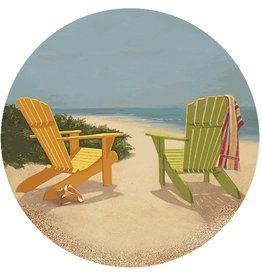 Thirstystone Set of 4 TSLS7 Best Seat in the House Coasters