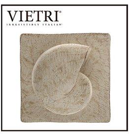 Vietri Nautilus Shell Square Plaque SPL-2622 Vietri Sculpture Wall Art