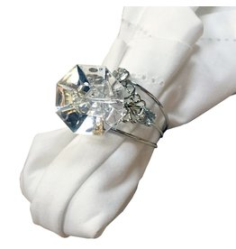 Gallerie II Faux Diamond Ring Napkin Ring