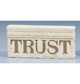 Milestones Trust Wall Plaque by Betty Singer