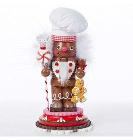Kurt Adler Christmas Nutcracker Hollywood Gingerbread Chef 10 inch HA0170