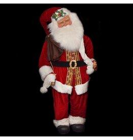 Kurt Adler Life Size Standing Santa w 6ft 72 inch Elegant Decorative Santa