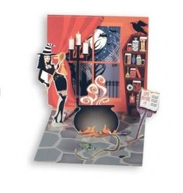 Halloween Pop-Up Greeting Card PS-765 Sexy Witch