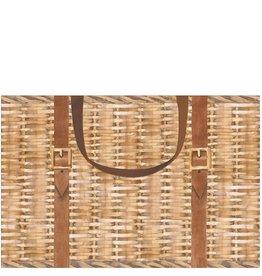 Caspari Gift Bag Hamper Basket Paper Gift Bag 15x10x6 8947B2.5