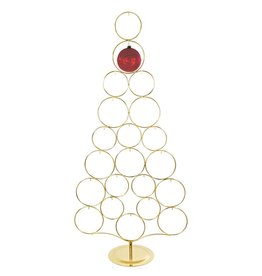 Kurt Adler Gold Metal Christmas Tree Rack 21 Hook Ornament Holder 2515 Kurt Adler