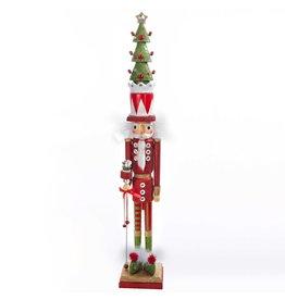 Kurt Adler Christmas Nutcracker Hollywood Skinny Tree Hat HA0219 Kurt Adler