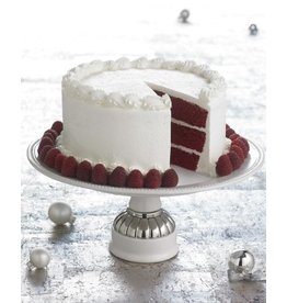 Mud Pie Cake Stand 141062 White Pedestal Cake Stand