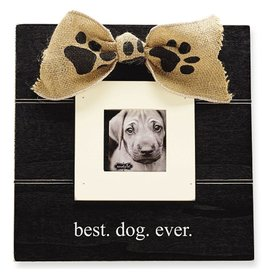 Mud Pie Pet Photo Frame Best Dog Ever 10x10 inch 4695108 by Mud Pie Gifts
