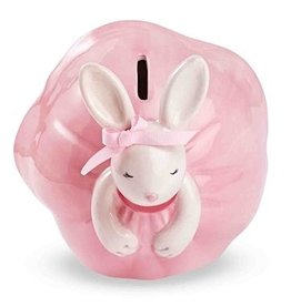 Mud Pie Ballet Princess Bunny Bank 2012039 by Mud Pie Gifts