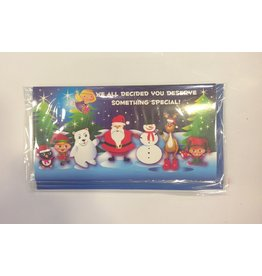 DM Merchandising Holiday Gift Card Holder w Lights N Music - Something Special
