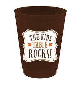Slant Thanksgiving Frost Flex Cup 16oz 8pk Kids Table Rocks F155353 Slant