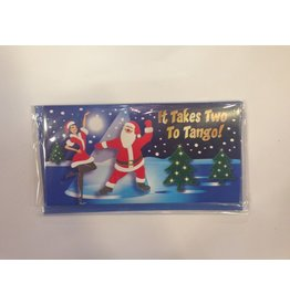 DM Merchandising Holiday Gift Card Holder w Lights N Music - Two to Tango