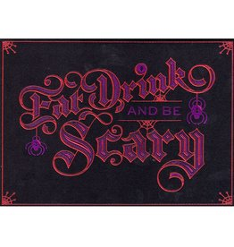 Papyrus Greetings Halloween Card Eat Drink and Be Scary by Papyrus