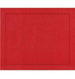 Caspari Placemats Paper Linen 11374PM Red Place Mats Roll of 10