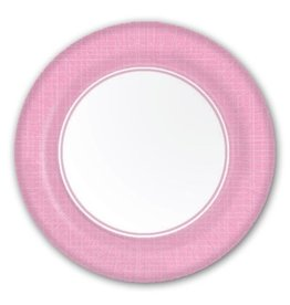 PPD Paper Product Design Paper Plate 88169 Mixx Pink Dinner Plate
