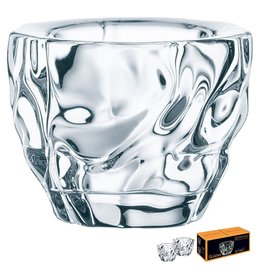 Nachtmann Glacier Crystal Votive Holder 2 Pk