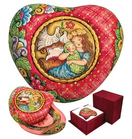 DeBrekht Artistic Studios Motherly Love Heart Box 58521-1