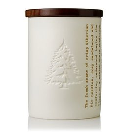 Thymes Frasier Fir Ceramic Poured Candle Heritage 9oz