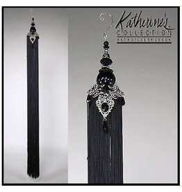 Katherine's Collection Tassels Large Decorative Tassel 32 inches Black