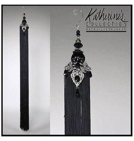 Katherine's Collection Tassels Trims Display 09-95127 Black Display Tassel 32 inch