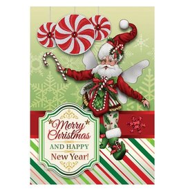 Mark Roberts Christmas Decorations Christmas Cards Boxed Candy Cane Holly Fairy