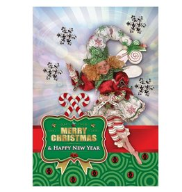 Mark Roberts Christmas Decorations Boxed Cards Snowflake Fairy