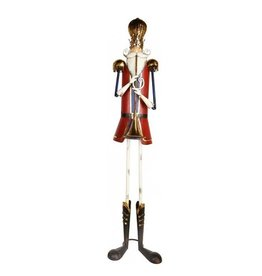 Mark Roberts Christmas Decorations Tin Nutcracker w Trumpet 68 inch