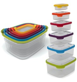 Joseph Joseph Nest Storage 12pc Set of 6 Compact Food Containers 81009