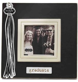 Mud Pie Graduation Photo Frame w Graduate Plate n Tassel Hook by Mud Pie Gifts