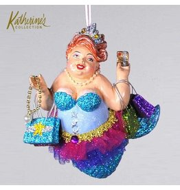 Katherine's Collection Kissing Fish Ornaments 28-29340-A Shopping Mermaid |