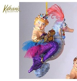Katherine's Collection Kissing Fish Ornaments Seahorse