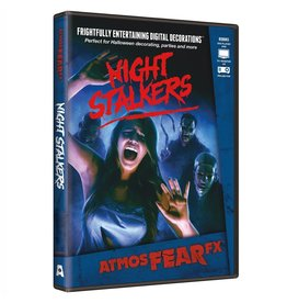 AtmosFEARfx Night Stalkers Digital Halloween Decorations DVD Video