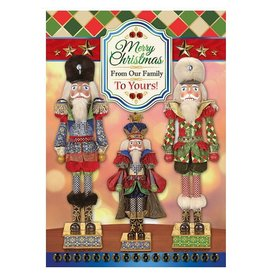 Mark Roberts Christmas Decorations Boxed Cards Royal Nutcracker