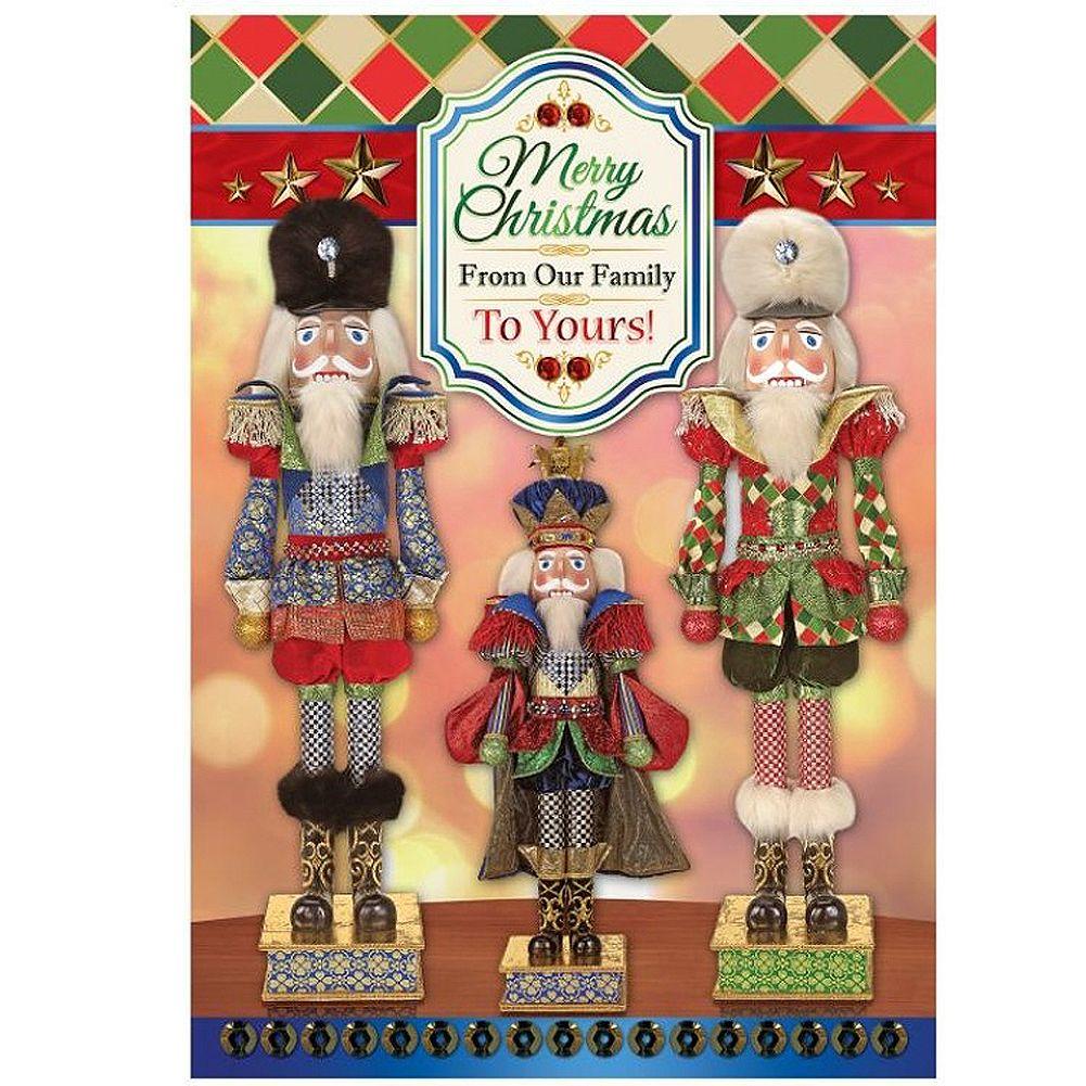 Mark Roberts Christmas Cards Box of 8 Royal Nutcracker Cards - Digs ...