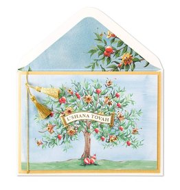 Papyrus Greetings Jewish New Year Card by Papyrus Cards Pomegranate Tree