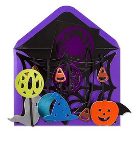 Papyrus Greetings Halloween Card by Papyrus Cards Hangable Spider Web Mobile