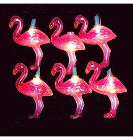 Kurt Adler Flamingo Novelty Light Set
