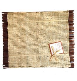 Vietri Reed Raffia Placemats Set of 4 RRA-3702N Vietri