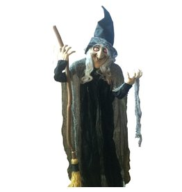 Darice Halloween Animated Standing Witch 6 ft 3114-751 by Darice