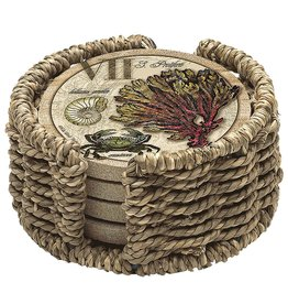 Thirstystone Seagrass Coaster Holder H14