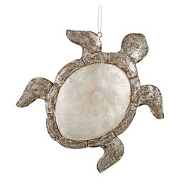 Gallerie II Shimmery Sea Turtle Christmas Ornament ORN71166 by Gallerie II