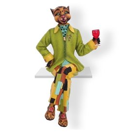 Alley Cats Margaret Le Van Alley Cats Figurines LV30-FE20 Fabulo Style Guru - Male
