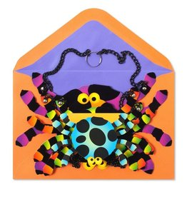 Papyrus Greetings Halloween Card Decorative Spider Mobile by Papyrus