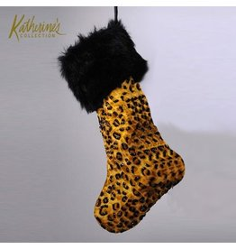 Katherine's Collection Christmas Stocking 14-36128-A Jungle Print