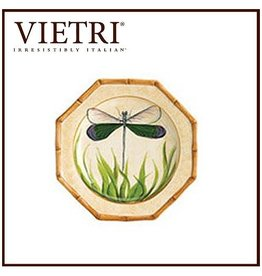 Vietri Bamboo Garden Salad Plate BBG-1301-C Dragonfly