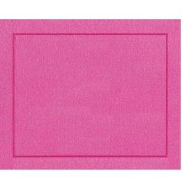Caspari Placemats Paper Linen 11372PM Fuchsia Place Mats Roll of 10