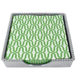 Mariposa Napkin Box Set 2625-C Jacki Luncheon Beaded Napkin Box