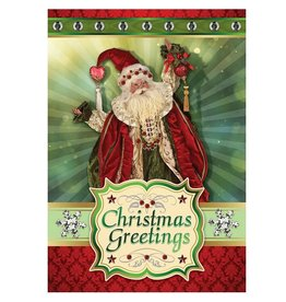 Mark Roberts Christmas Decorations Boxed Cards My True Love Santa