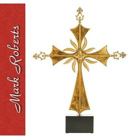 Mark Roberts Christmas Decorations LG Roman Cross On Base 36 inch